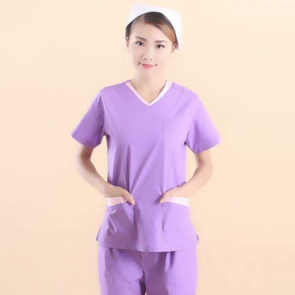 Nieuwe-Collectie-paars-vrouwen-ziekenhuis-medische-uniform-scrub-tandheelkundige-kliniek-schoonheidssalon-werken-uniform-vrouwen-V-hals.jpg_640x640
